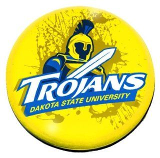 "NCAA Dakota State Trojans logo in 2"" Crystal magnet with Colored Window Gift Box : Sports Related Magnets : Sports & Outdoors"
