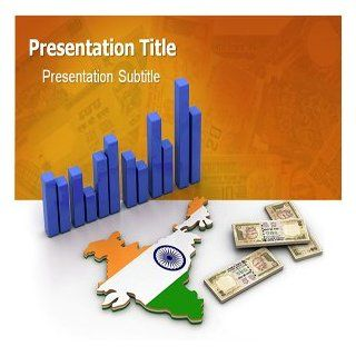 Indian Economy Powerpoint Templates   Indian Economy Powerpoint Background Slides: Software