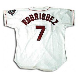 Ivan 'Pudge' Rodriguez Texas Rangers Autographed Jersey : Sports Related Collectibles : Sports & Outdoors