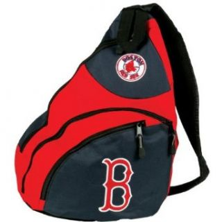 Boston Red Sox   Logo Sling Backpack MLB Pro Baseball : Sports Related Merchandise : Clothing