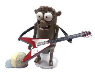 """Regular Show Rigby 3"""" Action Figure with Guitar and Hat Toys & Games"""