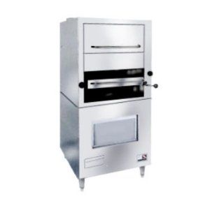 Southbend 171 LP 1 Infrared Deck Type Broiler w/ Enclosed Based & Warming Oven, LP, Each: Convection Countertop Ovens: Kitchen & Dining