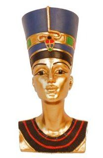 "Egyptian Nefertiti Bust 5"" Statue   Small Bust"