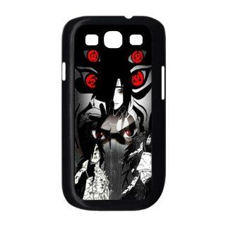 Naruto Uchiha Madara Cool Mangekou Sharingan Hard Plastic Case Cover for Samsung Galaxy S3 I9300 Custom Design Fashion DIY: Cell Phones & Accessories