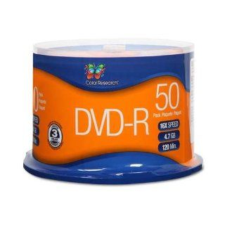 Color Research DVD R 50 Pack Electronics