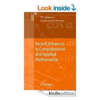 Recent Advances in Computational and Applied Mathematics eBook: Theodore E. Simos: Kindle Store