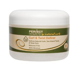 Perfect Results For Natural Curls Curl and Twist Definer, 8 Ounce : Curl Enhancers : Beauty