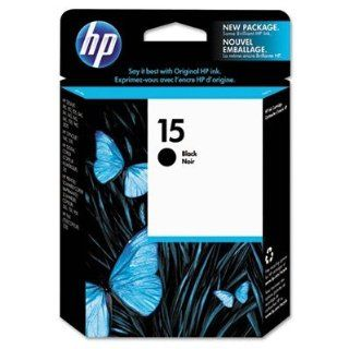 Hewlett Packard Products   HP 15 Inkjet Print Cartridge, 600 Page Yield, Black   Sold as 1 EA   Get professional quality, fade resistant print outs with crisp characters with HP 15. Depend on genuine HP ink for long lasting results. Use confidently with HP