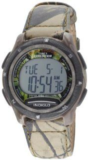 Timex Men's T40611 Expedition Digital Compass Realtree Hardwoods Green Camo Watch: Timex: Watches