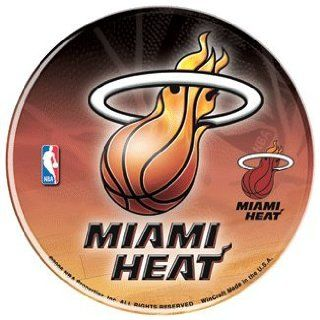 NBA Miami Heat Sticker   Domed Style : Sports Related Collectibles : Sports & Outdoors