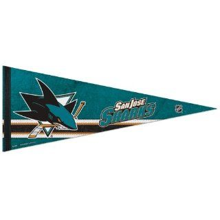 """San Jose Sharks Official NHL 29"""" Pennant : Sports Related Pennants : Sports & Outdoors"""