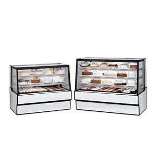 Federal Industries SGD3642 Display Case Sloped Glass Bakery Non Refrigerated 36 Long x 42 High   Sports Related Display Cases