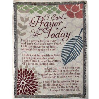 Tapestry Throw   I Said a Prayer For You Today   Throw Blankets