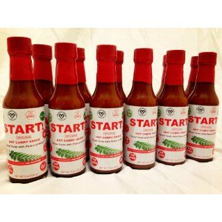 Start Hot Curry Sauce, Original, 5 Ounce : Hot Oil Sauce : Grocery & Gourmet Food