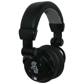 iHip Chicago White Sox Pro DJ Headphones with Microphone (HPBBCHIWDJPRO)