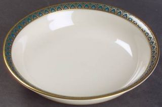 Lenox China Patriot (Gold Verge) Fruit/Dessert (Sauce) Bowl, Fine China Dinnerwa