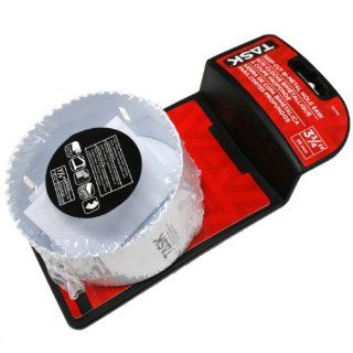 Task Tools T21741 3 3/4 Inch by 1 7/8 Inch Deep Cut Bimetal Hole Saw, 2 Piece   Hole Saw Arbors