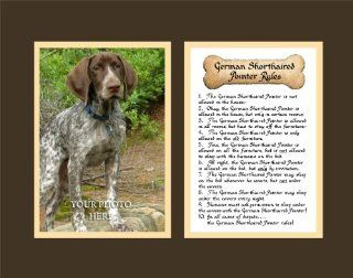 Dog Rules German Shorthaired Pointer Wall Decor Pet Saying Dog Saying   Decorative Plaques