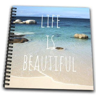 db_151390_1 InspirationzStore Inspirational Quotes   Life is Beautiful   Positive affirmations   Inspiring nature   Beach photography   words saying   Drawing Book   Drawing Book 8 x 8 inch