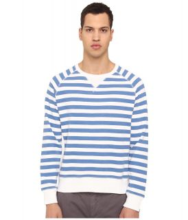 Jack Spade Price Striped Sweatshirt Mens Sweatshirt (Blue)