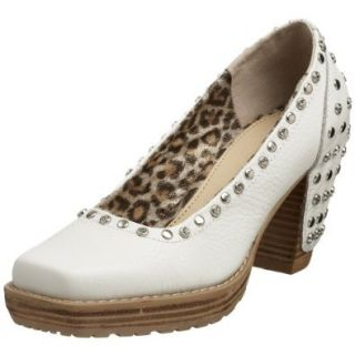 Cindy Says Women's Gavin Pump, White, 7 M US: Shoes