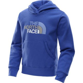 THE NORTH FACE Girls Multi Half Dome Pullover Hoodie   Size: Xl, Vibrant Blue