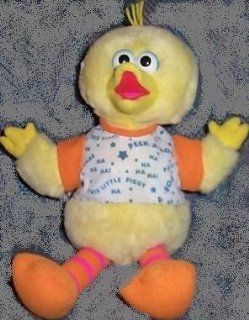 "Sesame Street Playtime Big Bird 17"" Plush, Says Peek a Boo, Pat a Cake and This Little Piggy Doll Toy: Toys & Games"