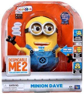 Despicable Me 2 9 inch Talking Figure   Dave: Office Products