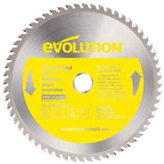 Evolution Power Tools 10BLADESSN Stainless Steel Cutting Saw Blade, 10 Inch x 66 Tooth   Circular Saw Blades