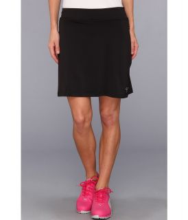 PUMA Golf Solid Knit Golf Skirt 14 Womens Skort (Black)