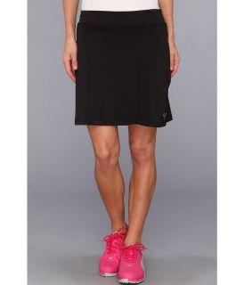 PUMA Golf Solid Knit Golf Skirt 14 Womens Skort (Black)