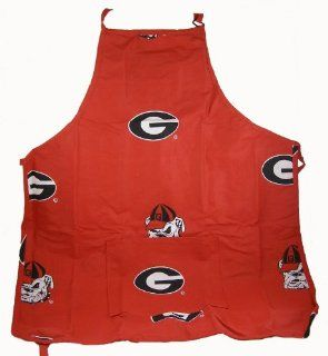 Georgia Bulldogs   Cooking Apron   (SEC Conference) : Kitchen Aprons : Sports & Outdoors