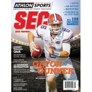 Athlon Sports 2013 College Football Southeastern (SEC) Preview Magazine  Florida Gators Cover: Athlon Sports: Books