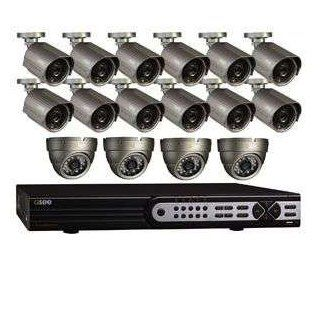 Q See D1 32Ch 700TVL 16 Cams 2TB HDD Sec System : Complete Surveillance Systems : Camera & Photo