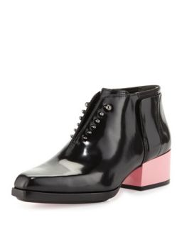 Runway Newton Leather Chelsea Bootie, Black   3.1 Phillip Lim   Black (39.0B/9.