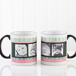 Personalized Picture Coffee Mugs   Photo Message for Her