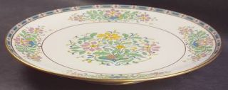 Lenox China Mystic Large Footed Sandwich Plate, Fine China Dinnerware   Multicol