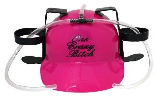 Party Time Drinking Hat ~ Funny Saying ~ Pink ~ By Island Dogs: Everything Else