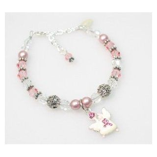 Breast Cancer Awareness Loop: Abernook: Jewelry
