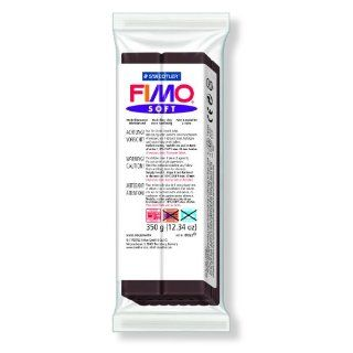 FIMO Soft Clay 13 oz Bar   Chocolate  Artists Clays