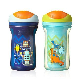 Tommee Tippee Explora Easiflow Boys Cup with Dura Spout BPA Free 9 Oz 2 Pack 12m Colors May Vary : Tommee Tippee Sippy Cup : Baby