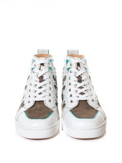 Arizona leather and suede trainers  Christian Louboutin  MAT