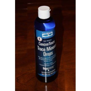 Concentrace Trace Mineral Drops in a Glass Dropper Bottle(4 FL. OZ.): Health & Personal Care