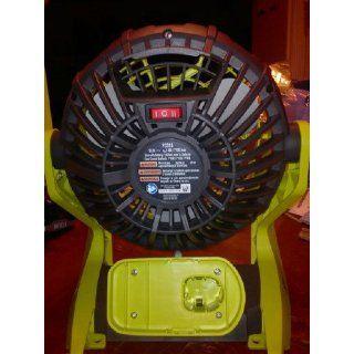 "Ryobi Fan 10"" 18 volt Battery Type [BARE TOOL NO BATTERY]   Cordless Tool Accessories"
