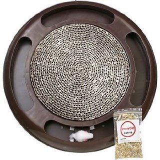 Emery Cat Board   Circle Chaser   As Seen on TV : Scratching Pads : Pet Supplies