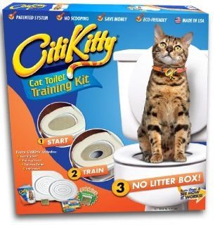 CitiKitty Cat Toilet Training Kit : Litter Boxes : Pet Supplies