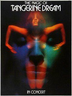 Tangerine Dream Electronic Meditation 1970   Concert Music Poster Concertposter   Prints