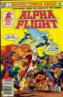 Alpha flight #1 Tundra!: John Byrne: Books