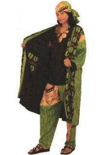African Diva Reversible Duster and Pants Set   Available in Several Colors, Orange at  Women�s Clothing store: Suits