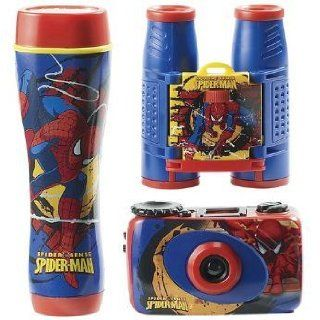 Marvel Spider Man Spider Sense 3 Piece Adventure Kit: Camera & Photo